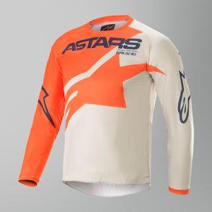 Alpinestars Racer Braap Crosströja Barn Orange-Grå-Blå