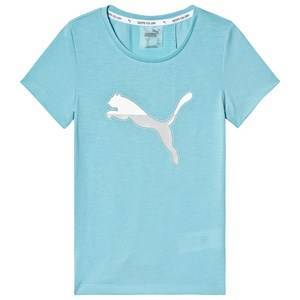 Puma Branded Active Sports T-shirt Blå 11-12 years