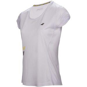 Babolat Core Flag Club Girl T-Shirt, White 140