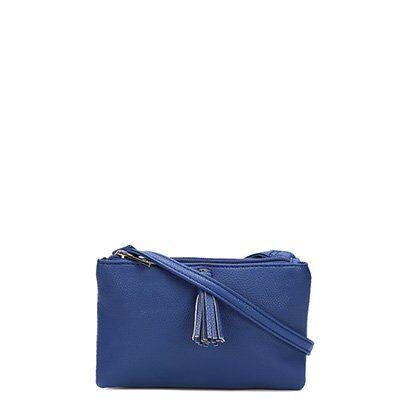 Bolsa Butterfly Tranversal Barbicachos  - Feminino-Azul