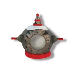 Vegaoo Robothovd hjelm barn i stof