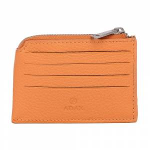 Adax Susy Peach Cormorano Card Holder (Orange)