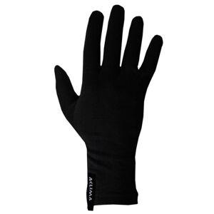 Aclima LightWool Liner Gloves Sort Sort XXL