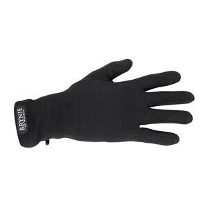 BRYNJE Classic Gloves - Liners Sort Sort L