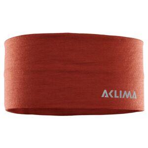 Aclima LightWool Headband Rød Rød L