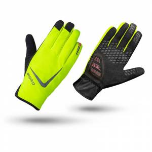GripGrab Cloudburst Hi-Vis Waterproof Midseason Glove Gul Gul 9