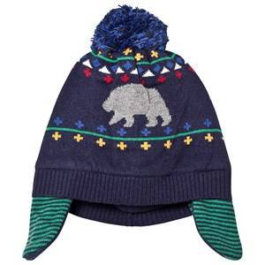 Absorba Navy Forest Hat Beanies