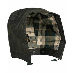 Barbour Waxed Cotton Hood Sage
