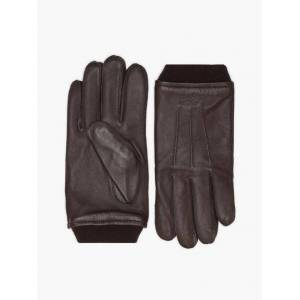 Gant D2. Leather Gloves Hansker og votter Java