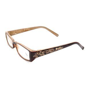 12346bfd6e Newchic Women Resin Anti-Fatigue Reading Glasses Frame Legs Carved Full  Frame Presbyopic Glasses