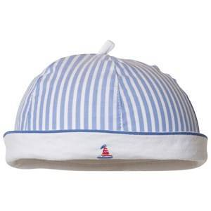 Mayoral Blue and White Stripe Sailor Hat 6-9 months
