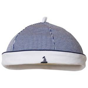 Mayoral Navy and White Stripe Sailor Hat 6-9 months