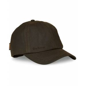 Barbour Lifestyle Wax Sports Cap Olive Olive One Size