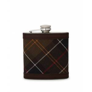 Barbour Lifestyle Classic Hip Flask Brown