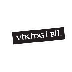 Viking i Bil Klisterdekal