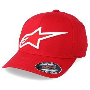Alpinestars Keps Astar Logo Red/White - Alpinestars - Röd Flexfit