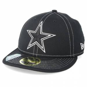New Era Keps Dallas Cowboys 59Fifty Low Profile Black/White Fitted - New Era - Svart Fitted