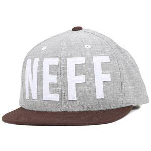 Neff Keps O'Brother Grey Snapback - Neff - Grå Snapback