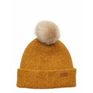 Barbour Foreland Pom Beanie Accessories Hats & Caps Beanies Gul Barbour