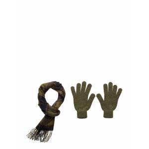 Barbour Scarf And Glove Gift Box Scarf Grön Barbour