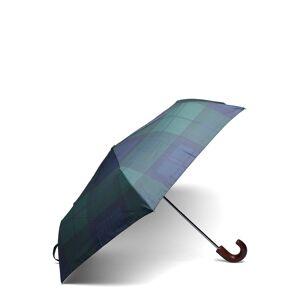 Barbour Tartan Mini Umbrella Paraply Blå Barbour