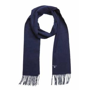 Barbour Plain Lambswool Scarf Scarf Blå Barbour