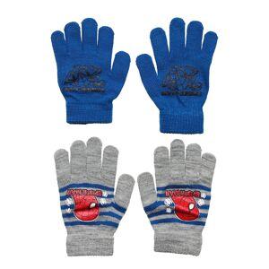 Marvel Set 2 Pcs Gloves Handskar Blå Marvel