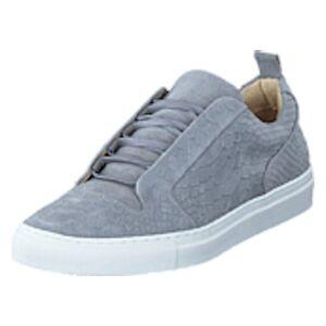 Bianco Inn. Embossed Shoe JFM17 15 Grey, Shoes, blå, EU 43