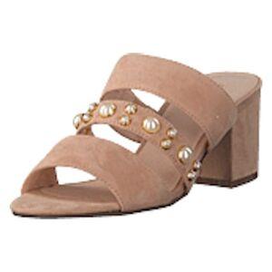 Bianco Pearl Strap Sandal Powder, Shoes, brun, EU 37