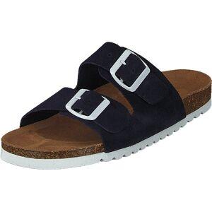 Vero Moda Julia Leather Sandal Night Sky, Skor, Sandaler och Tofflor, Sandal, Brun, Dam, 36