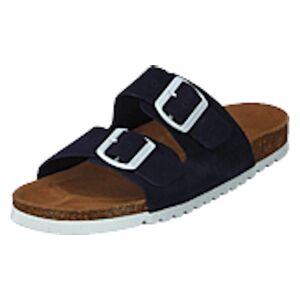 Vero Moda Julia Leather Sandal Night Sky, Shoes, brun, EU 40