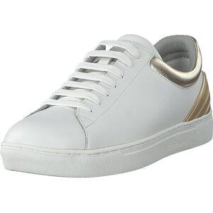 Giorgio Armani Emporio Armani Sneaker X3x043 P461 White/optic White, Skor, Sneakers och Träningsskor, Låga sneakers, Vit, Dam, 36
