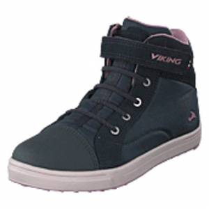 Viking Leah Mid Kids Gtx Dark Grey/dusty Pink, Shoes, grå, EU 28