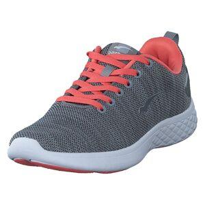 Bagheera Flow Grey/peach, Dam, Shoes, blå, EU 39