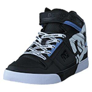DC Shoes Pure High-top Se Ev Sn Black/white, shoes, svart, EU 31