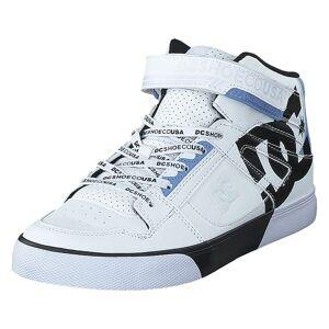 DC Shoes Pure High-top Se Ev Sn White/black/white, Barn, shoes, vit, EU 32