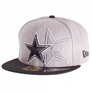 New Era Ny era 59Fifty keps - SCREENING Dallas Cowboys grå 7 - (55,8cm)