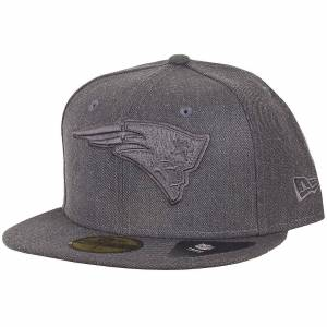 New Era Ny era 59Fifty keps - New England Patriots grå GRAFIT Träkol 7 1/4 - (57,7cm)