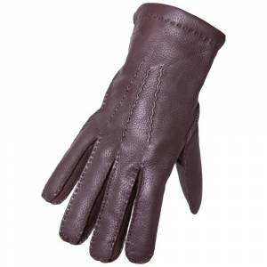 Hestra Mäns handske i hjortskinn