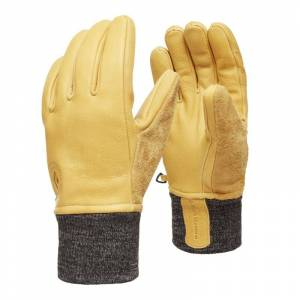 Black Diamond Dirt Bag Gloves Gul
