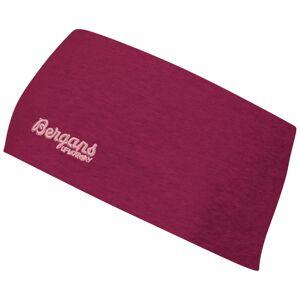 Bergans Youth Cotton Headband Röd