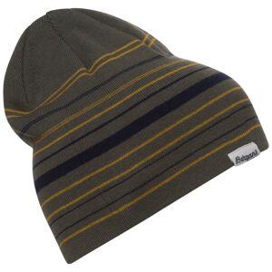 Bergans Striped Beanie Grön