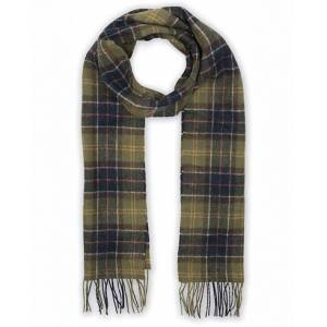 Barbour Lifestyle Tartan Lambswool Scarf Classic