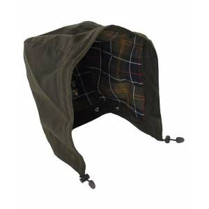 Barbour Lifestyle Classic Sylkoil Hood Olive