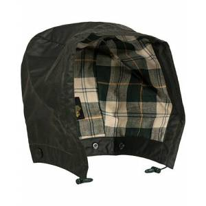 Barbour Lifestyle Waxed Cotton Hood Sage