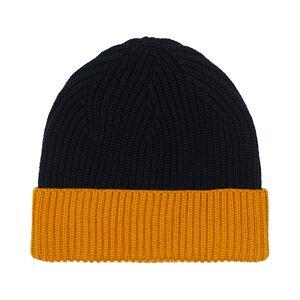 Altea Two Tone Wool Beanie Navy/Yellow