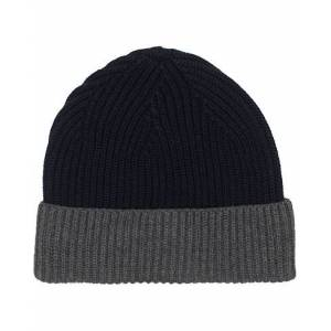 Altea Two Tone Wool Beanie Navy/Cobalt