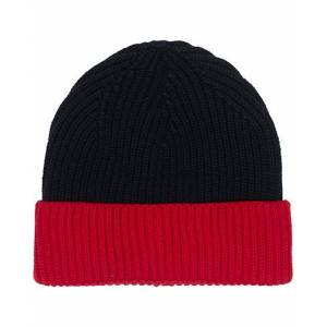 Altea Two Tone Wool Beanie Navy/Red