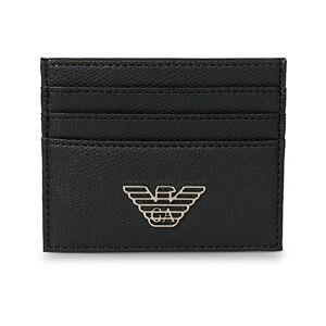 Giorgio Armani Emporio Armani Credit Card Holder Black