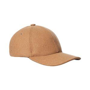 A.P.C. Flannel Baseball Cap Beige